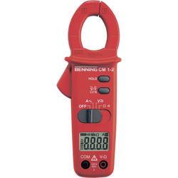 Benning, Multimeter, Stromzange, Hand-Multimeter di (CAT III 600V)