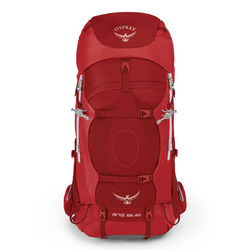 Osprey Ariel AG 65 WS Plecak 85 cm picante red