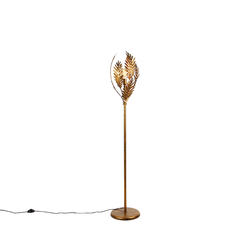 Vintage Stehlampe Gold - Botanica