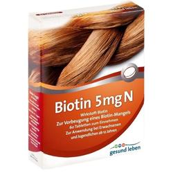 gesund leben Biotin 5 mg N