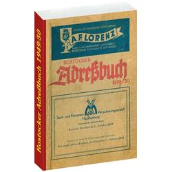 ROSTOCKER ADRESSBUCH 1949/50 als Buch von