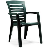 BEST Freizeitmöbel Florida 60 x 66 x 89 cm grün 2 Stück
