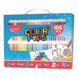 100-tlg. Stifte-Set »Color'Peps«, Maped
