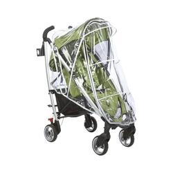 Gesslein Kinderwagen-Regenschutzhülle Regenschutz mit Reflektoren für Kinderwagen und