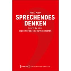 Sprechendes Denken: Buch von Moritz Klenk