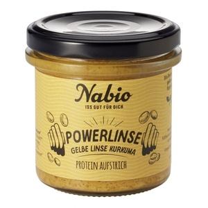 Nabio Powerlinse Aufstrich - Gelbe Linse + Kurkuma bio