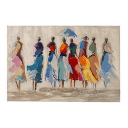Originalgemälde afrikanische Frauen