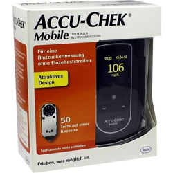 ACCU CHEK Mobile Set mg/dl III 1 St
