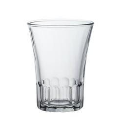 Duralex Teeglas Amalfi, Glas, Kaffeeglas Teeglas 210ml Glas transparent 4 Stück Ø 7.7 cm x 9.6 cm