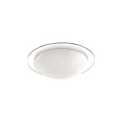 Leuchtendirekt LED-Deckenleuchte Skyler mit Starlight-Effect, 45 cm