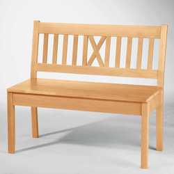 Sitzbank aus Buche Massivholz