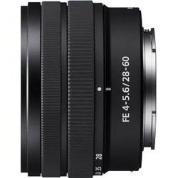 Sony SEL 28–60mm FE4–5.6 Objektiv
