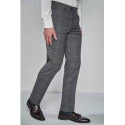 Next Anzughose Taillierter Anzug im Prince-of-Wales-Karo: Hose 33 - 91,5