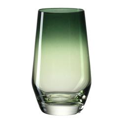 LEONARDO Glas PUCCINI Grün 300 ml, Kristallglas grün