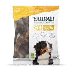 Yarrah BIO Hühnerhälse Hundeleckerli