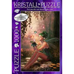 Swarovski Kristall Puzzle 1000 Teile Motiv: Fasiry Forrest