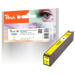 Peach Tintenpatrone gelb kompatibel zu HP No. 980 y, D8J09A