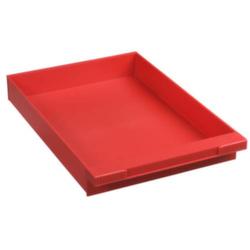 1658649 Schublade für Schubladensystem (B x H x T) 242 x 51 x 345mm Rot 1St.
