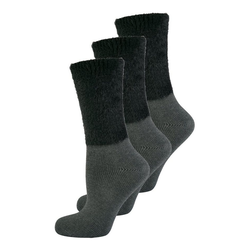 Elbeo Freizeitsocken 3-Pack Cozy Winter grau 35-38
