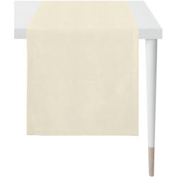 APELT Tischläufer Apart, LOFT STYLE (1-tlg), UNI-BASIC natur