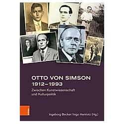 Otto von Simson 1912-1993 - Buch