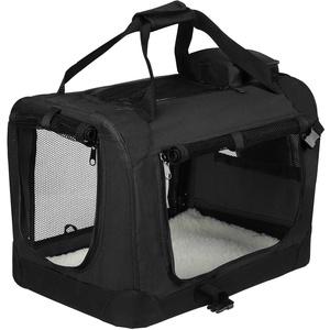 EUGAD Hundebox faltbar Hundetransportbox Auto Transportbox Reisebox Katzenbox 0115HT