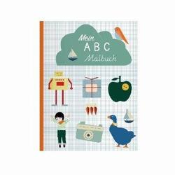 Mein ABC-Malbuch