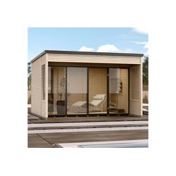 weka Gartenhaus Cubilis 2.0 Gr.1, BxT: 388x394 cm