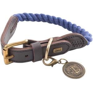 HUNTER Hundehalsband List blau, Breite: ca. 12 mm, Länge: ca. 48 – 56 cm