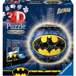Ravensburger Puzzleball Nachtlicht Batman, 72 Puzzleteile, mit Leuchtmodul inkl. LEDs; Made in Europe, FSC® - schützt Wald - weltweit