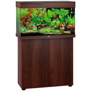 JUWEL AQUARIEN Aquarien-Set Rio 125 LED, BxTxH: 81x36x123 cm, 125 l, mit Unterschrank braun