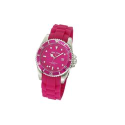 Zeeme Uhr pink Silikon Datumsanzeige rosa