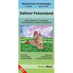 Dahner Felsenland Blatt 41-544 1 : 25 000