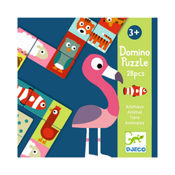 DJECO Puzzle Lernspiele: Domino Animo-puzzle, Puzzleteile