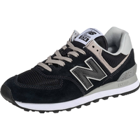 NEW BALANCE Women's 574 black-grey/ white, 36.5