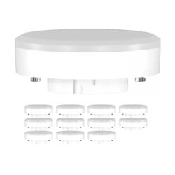 GX53 LED Strahler 10W=74W 1000lm 4100K 120° Strahler weiß, 12 Stk.