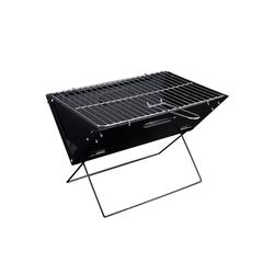 Pro-tec Holzkohlegrill, Butjadingen Klappgrill BBQ Koffergrill XL Faltgrill 45x30x30cm Schwarz