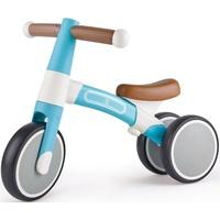 HaPe Mein erstes Lauf-Dreirad, Helltürkis, mit leichtem Aluminiumrahmen blau