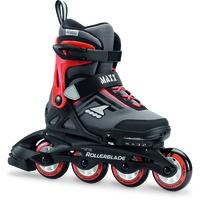 Rollerblade Maxx schwarz/leuchtend rot, 36.5-40.5
