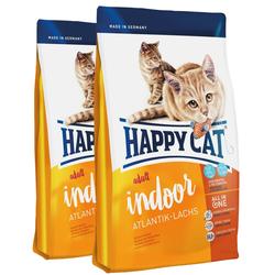 HAPPY CAT Indoor Adult Atlantik-Lachs 20 kg (2 x 10 kg)