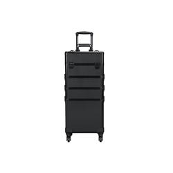 Yaheetech Kosmetikkoffer, Alu Beauty Case Kosmetik Trolley Rollkoffer 4 in 1 Schminkkoffer