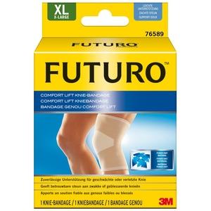 FUTURO FUT76589 Comfort Knie-Bandage, beidseitig tragbar, Größe XL, 49,5 – 55,9 cm