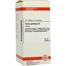 PANAX GINSENG D 6 Tabletten