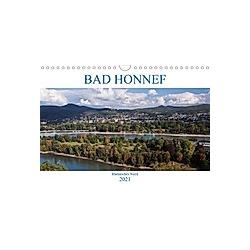 Bad Honnef - Rheinisches Nizza (Wandkalender 2021 DIN A4 quer)