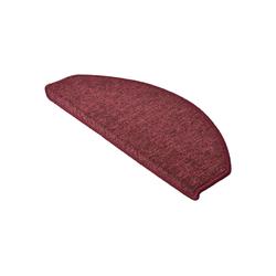 Stufenmatte ProStair, Beautissu, 15er Set Treppenmatten 65x25cm rot 65 cm x 25 cm
