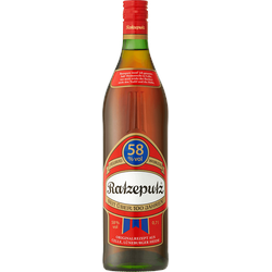 Ratzeputz 0,7L 58% vol.