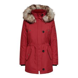 ONLY Langer Parka Damen Rot Female M