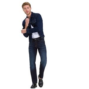 CROSS Jeans Antonio - Slightly Tapered - Deep Blue-W 36 / L 32 Blau 36 x 32