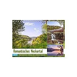 Romantisches Neckartal (Tischkalender 2021 DIN A5 quer)