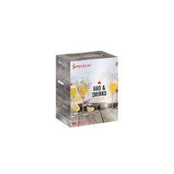 SPIEGELAU Sektglas BBQ & Drinks Prosecco Glas 6er-Set (6-tlg)